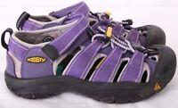Keen 0712 Purple Bungee Hiking Trail Waterproof Sandals Youth Kids Girls U.S. 1