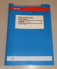 Workshop Manual VW Polo 6N Chassis Stand 09/1994