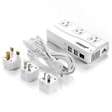 BESTEK Universal Travel Adapter 220V to 110V Voltage Converter with 6A 4-Port