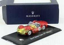 1:43 MASERATI Tipo 61 Nassau Trophy 1961 #78 Schroeder LEO MODEL