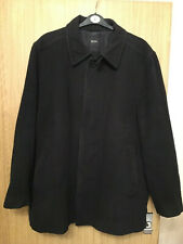 Mens Hugo Boss Wool Cashmere Blend Coat Jacket - Size 56 / XXXL