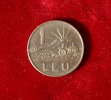 1 Lei Leu 1966 Münze Coin Rumänien Romania (D8)