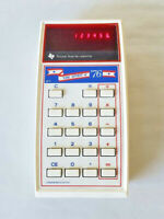 Vintage Texas Instruments TI Spirit of '76 Calculator Original Box Still Works