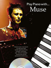 """Play Piano with """"Muse"""": Songbuch für Klavier, Gesang und Gitarre + CD, Muse 