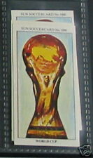 world cup soccer Collector card #1000