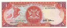A SAISIR      BILLET    1 $    TRINIDAD ET TOBAGGO   2002      NEUF    !!!!  UNC