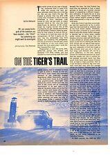 1968 PONTIAC FIREBIRD RAM-AIR 400  ~  ORIGINAL 2-PAGE ROAD TEST / ARTICLE / AD