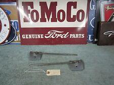 1955 1956 Ford Mercury Convertible Sunvisor Brackets ( L & R New )