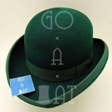 CLASSIC Wool Felt Kids Child Dura Lined Bowler Derby Top Hat | 52cm | Black Gray