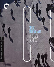 Code Unknown (Blu-ray Disc, 2015, Criterion Collection) Excellent Condition!!!!