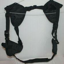 Concealed Double Shoulder Holster w/ Clip Pouch Fits Standard .380 Guns Sz 12