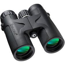 BARSKA 10x42 Waterproof Blackhawk Binoculars w/ Green Lens, AB11842