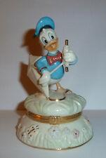 "Lenox Walt Disney Donald Duck ""Flying High With Donald"" Hinged Trinket Box"