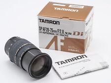 Tamron SP AF Aspherical XR Di LD 28-75mm 28-75 mm 2.8 Macro - Sony Minolta OVP