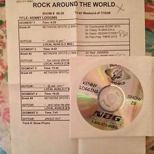 RADIO SHOW: ROCK AROUND THE WORLD #99-29 KENNY LOGGINS RARE EXCLUSIVE INTERVIEW