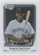 (15) 2011 11 Bowman Chrome Draft Harold Riggins Rookie Card Lot Rockies