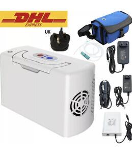 3L/Min Portable Oxygen Concentrator Rechargeable Battery For Home 110V 220V UK