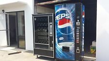 Dixie Narco 440-7 Coke Soda Vending Machine & Ap 7000 Snack Vending Machine