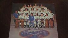 "1972-73 ORIGINAL Buffalo Sabres 8 x 10"" Team Photo  NHL Hockey French Connection"