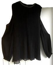 Next Ladies Cold Shoulder Long Sleeved Blouse Size 18