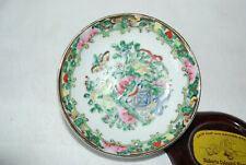 Japanese Butter Pat Hand made Porcelain Hand painted glazed with BUTTERFLIES