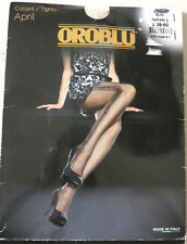 Oroblu April Collant Tights Pantyhose Luxury Legwear S/M Italy Safari 2 NEW $23