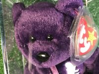 TY Beanie Baby💞PrInCeSs DiAnA💕PE NO space MiNt💖1ST EDITION💯TY💎AUTHENTICATED