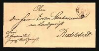 Germany 1885 Camberg Stampless Cover - Z17067