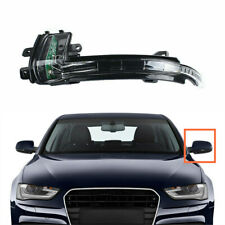 Front Left Door Wing Mirror Turn Signal LED Light Fit For AUDI A4 S4 2010-2015