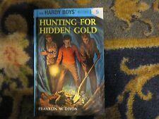 Hardy Boys Hunting for Hidden Gold No 5 Franklin W Dixon Flashlight ed good