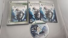 Assassin's Creed Platinum Hits (Microsoft Xbox 360, 2007) CIB