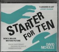 Starter for Ten by David Nicholls (CD-Audio, 2012) read by David Tennant