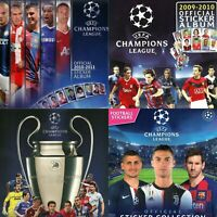 All Champions League Panini Albums from 1994 to 2020 -in PDF- Football Soccer