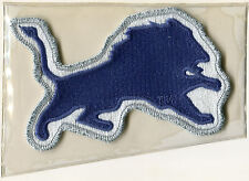 DETROIT LIONS OFFICIAL NFL FOOTBALL TEAM EMBLEM PATCH WILLABEE WARD