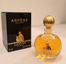 LANVIN ARPEGE EDP 5ml - 1.EDITION RARE VINTAGE PERFUME ORIGINAL, NEW, BOX