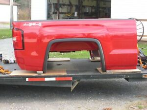 new take off gmc 6 1/2 shortbed red