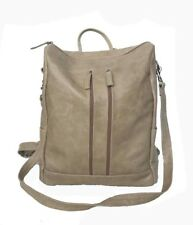 e259293c0f6 Distressed Leather Backpack Bag, Everyday Casual Purse, Ceida