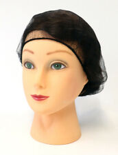 Hair Nets, Latex Free Hairnets, Black, 21 Inches, 1000 Pack