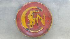 Original Lokschild Emblem,  SNCF Macaron auf der Rauchkammertür