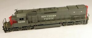 Precision Scale Brass SD40T-2 Powered Diesel Locomotive SP  1/87 HO Scale