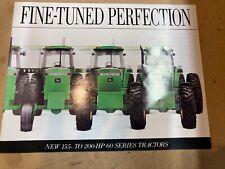 John Deere tractor 60 series Brochure Literature adve 00006000 rtising jd 4960 4760