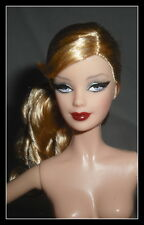 NUDE BARBIE (ZZ) STUNNING BLONDE BLUE EYES HOLIDAY MODEL MUSE  DOLL FOR OOAK (Z)