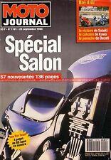 MOTO JOURNAL 1101 Spécial SALON 1993 Joe Bar Team Résultats BOL d'OR HONDA RC 45