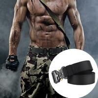Men Military Belt Buckle Adjustable Combat Waistband Rescue Tactical Rigger C9Y5