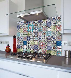 Printed Kitchen Glass Splashback - Toughened & Heat Resistant Cooker Panel 1156