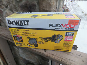 New DeWalt 60V Max FlexVolt Brushless Grinder Kit W/ Kickback Brake  DCG414T2