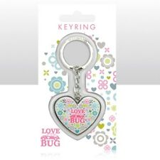 VW Beetle Love Bug Heart Shaped Keyring Officially Licensed By Volkswagen