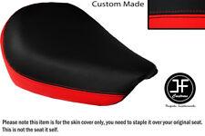 Rojo y Negro personalizado de vinilo cabe SUZUKI GZ 125 Marauder frente cubierta de asiento solamente