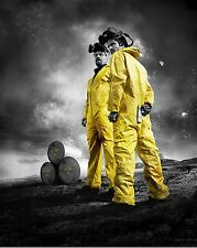 BREAKING BAD WALTER JESSIE YELLOW TELEVISION POSTER TV A4 A3 ART PRINT