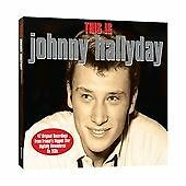 THIS IS JOHNNY HALLYDAY - 2 CD BOX SET